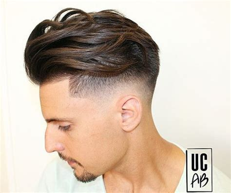 very short sides long and curly on top 40 superb comb over hairstyles for men