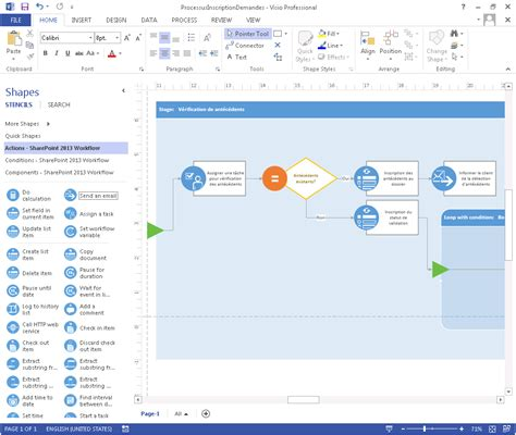 workflow template sharepoint 2013 13 visio workflow icons images free visio shapes