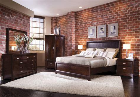 brick wallpaper traditional bedroom houston  total wallcovering