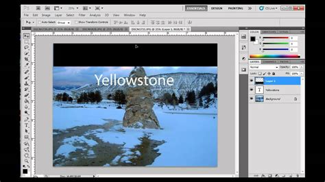 photoshop cs5 tutorial for beginners video working with layers in photoshop cs5 part 1 beginners
