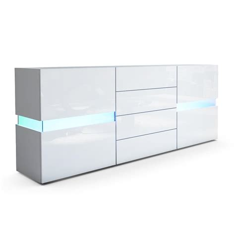 Flow Sideboard: Kommode mit Ambient Light und LED