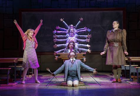 matilda the musical books darkly joyous abandon to be found in matilda review