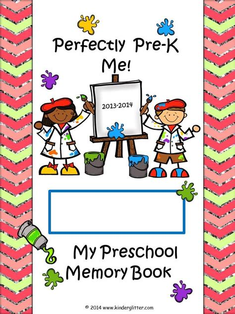 Preschool Autograph Book Bing Images Preschool Memory Book Template