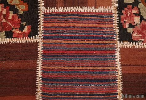 Kilim Patchwork Rug - k0004732 multicolor turkish patchwork kilim rug kilim