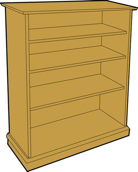 bookcase clip at clker vector clip