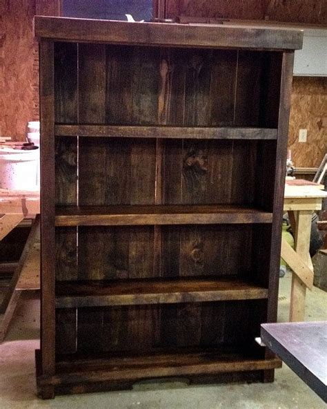 best 20 rustic bookshelf ideas on