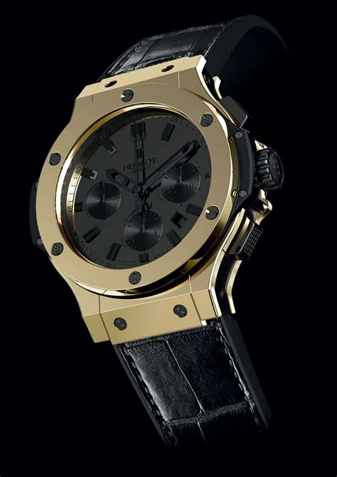hublot s scratch resistant magic gold watches