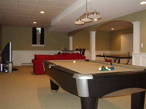Finish Basement Ideas by Finished Basements Completed Finished Basement
