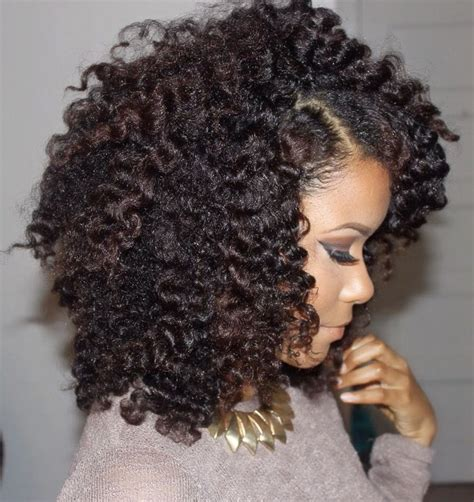 french roll for transitioning to natural 25 transition styles for natural hair tgin