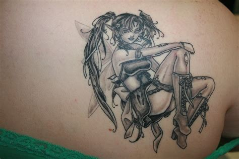 evil fairy tattoo designs design idea