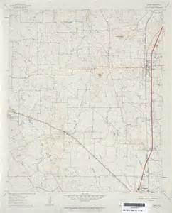 joshua texas map texas topographic maps perry casta 241 eda map collection ut library