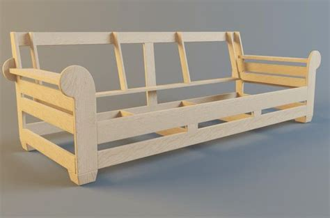 how to make a couch frame sofa frame making furniture pinterest