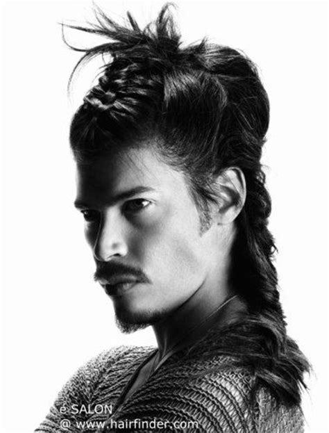 mens american indian hair style native american braided hairstyle style men