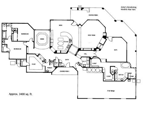 layout of house vista