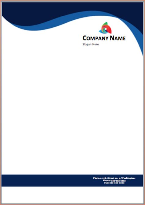 free downloadable letterhead templates free printable letterhead templates image collections