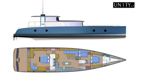 most fuel efficient boat hull design design 13 unity24 bury design
