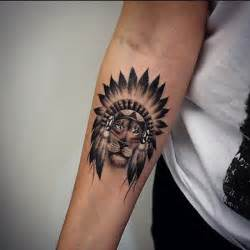 indian lion tattoo small great black and white indian lion tattoo on forearm tattooimages biz