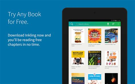 book apps for android new app inkling ebook beta app brings a catalog of interactive literature to android