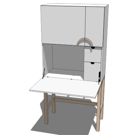 Computer Cupboards Ikea ikea cyril computer cabinet 3d model formfonts 3d models textures