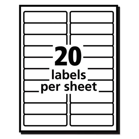 avery 8161 labels