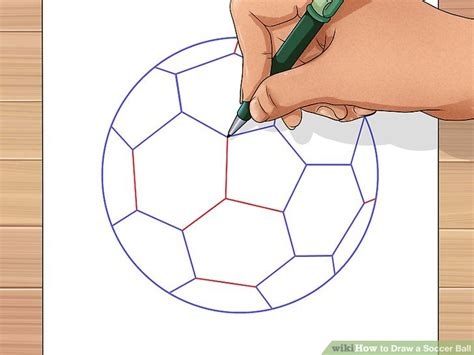 soccer haircut steps 3 ways to draw a soccer ball wikihow