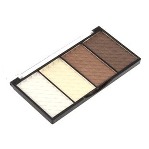 Highlight And Powder 24 Colour four color contour shading pressed powder boardwalkbuy uk