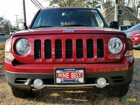 jeep patriot 2017 red 2017 deep cherry red crystal pearl jeep patriot high