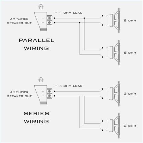 speaker wiring diagram series vs parallel moesappaloosas