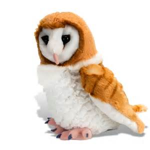 Owl Stuffed Animal by Cuddlekins Barn Owl Wild Republic 13466 Stuffed Animal