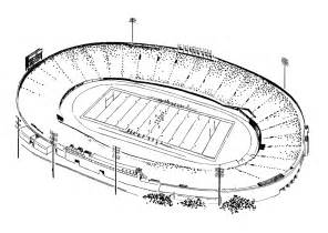 Steelers Football Stadium Coloring Pages Sketch Page sketch template