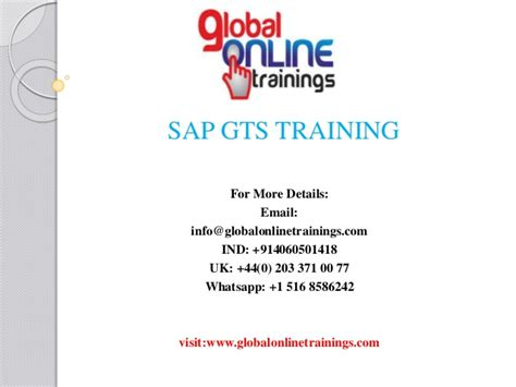 sap gts tutorial pdf sap gts training sap global trade services 11 online