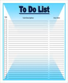 Sample To Do List Template Pics Photos Download To Do List Template