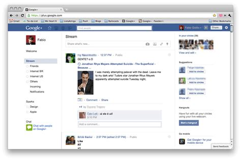 themes like facebook how to make google look like facebook