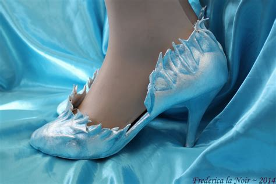 elsa frozen shoes for frozen footwear elsa style by frederica la noir on