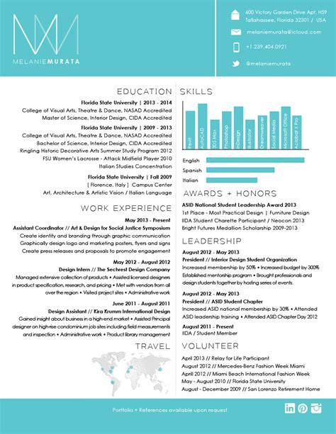 academic cv template design cool resumes interior design google search my style