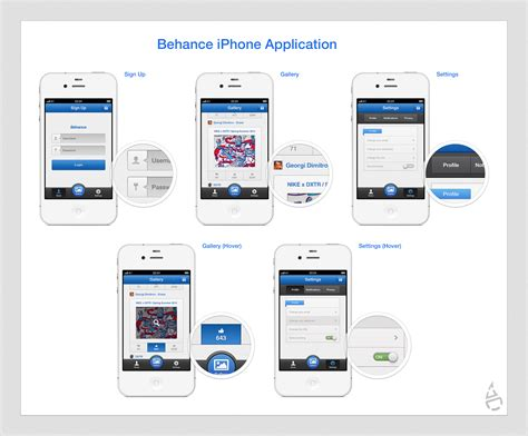 Home Design Software For Iphone Behance Iphone Application By Czarny Design On Deviantart