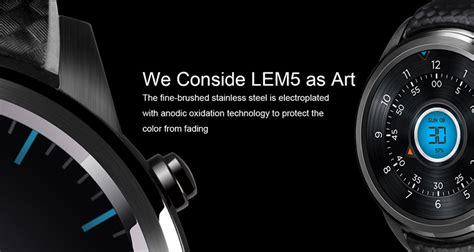 Lemfo Lem5 Android 51 Mtk6580 1gb 8gb Smart dealsmachine lemfo lem5 1 39 inch android 5 1 3g