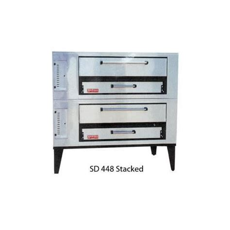 marsal and sons pizza prep tables marsal and sons sd 448 stacked marsal pizza deck oven