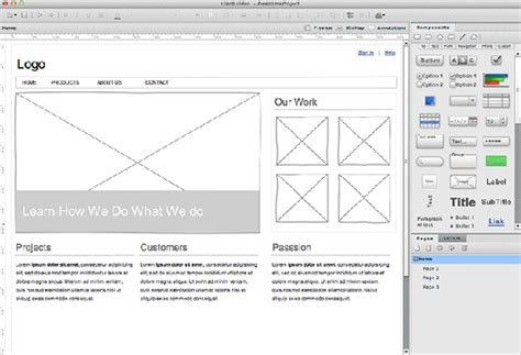 visio mockup the 20 best wireframe tools of leonid mamchenkov