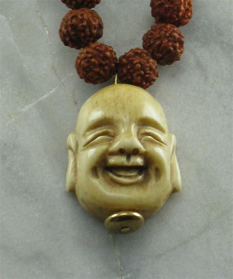 large buddhist prayer mala necklace 108 rudraksha mala buddhist