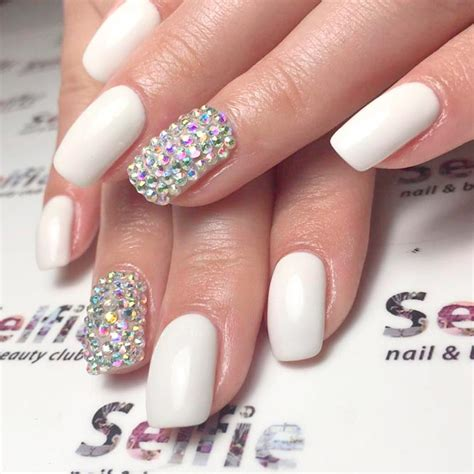 You Nails by Awesome White Acrylic Nails Naildesignsjournal