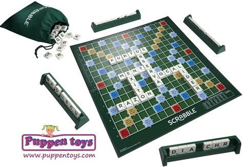 original scrabble crossword mattel juguetes puppen toys
