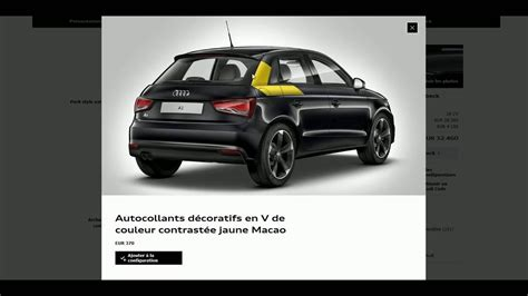 Audi Konfig by Config N01 Audi A1 Sportback S Line 1 4 Tfsi S Tronic