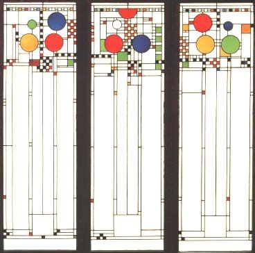 coonley house windows frank lloyd wright avery coonley house playhouse windows