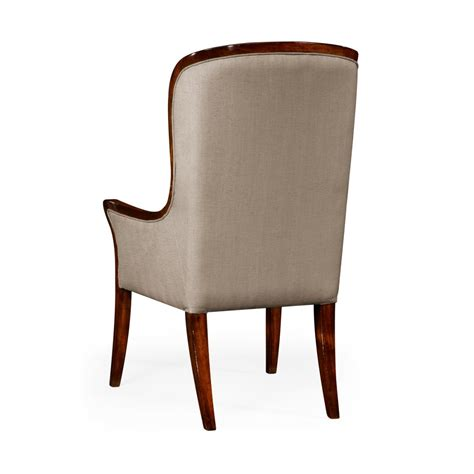 upholstered dining armchair high back upholstered dining armchair swanky interiors