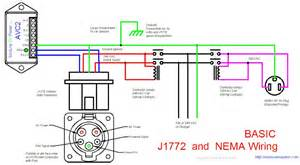 safe dual inlet connections to use j1772 and nema 5 15 inlets