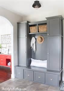 Ikea Mudroom Lockers remodelaholic 100 inspiring mudrooms and entryways