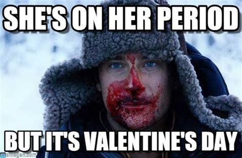 Bear Grylls Blood Meme - she s on her period bear grylls blood meme on memegen