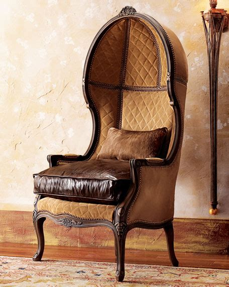balloon armchair old hickory tannery leather balloon armchair