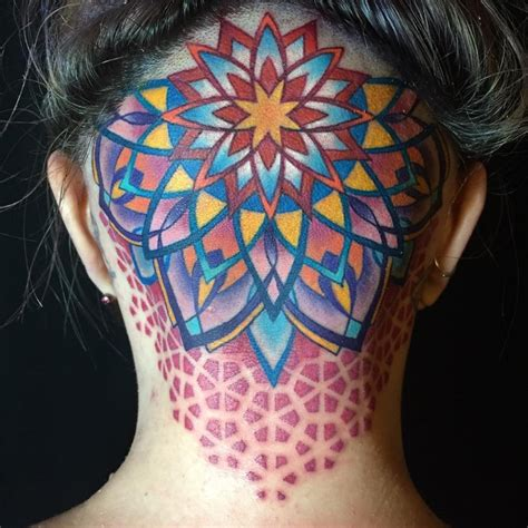 mandala head tattoo 109 of the most stylish mandala tattoos you will see